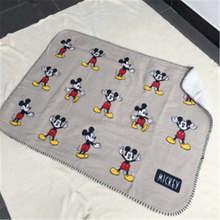 Disney мультфильм Микки Маус четыре сезона утолщаются очень мягкий флис дети одеяло с облаками для мальчиков и девочек пледы одеяло коврики по...(China)