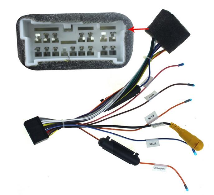 JOYING AUTOMOTIVE FIT HYUNDAI PLUGS INTO FACTORY CAR RADIO AUDIO HEAD UNIT STEREO CD DVD PLAYER UNIVERSAL WIRING HARNESS INSTALL<br><br>Aliexpress