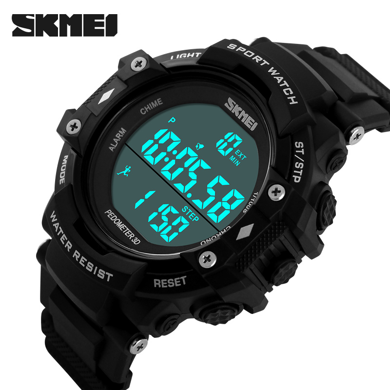 Fashion Skmei Sports Brand Watch Men's Digital Shock Resistant Electronic Alarm Wristwatches Outdoor Military LED Casual Watches(China (Mainland))