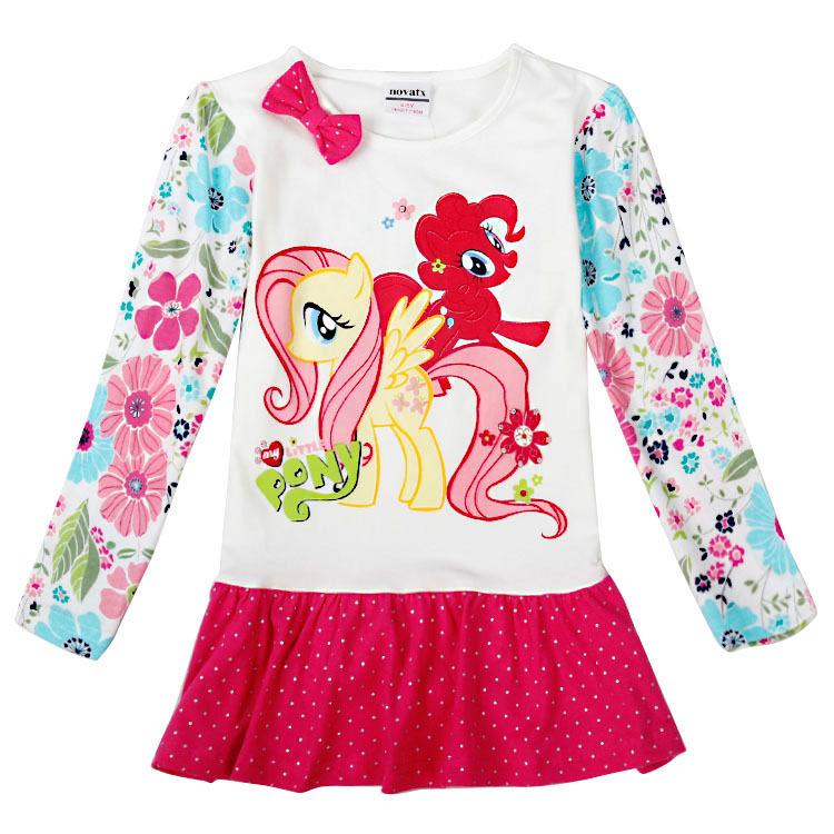 Baby girl dress 2016 baby clothing Nova brand print kids cotton girls children clothes cartoon dresses - Factory Retail & Shop store