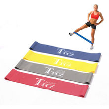 free shipping Tension Ankle Resistance Band Exercise Loop Crossfit Strength Weight Training Fitness Loop Workout Leg Butt Lift(China (Mainland))