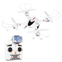 MJX X400C Wifi 3D Flip 4CH 2.4GHz 6-Axis Gyro RC Drone Headless Mode One Key Return Quadcopter without Camera for IOS Andriod