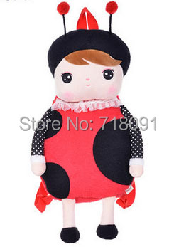 Brand Metoo,Plush Toy Doll Girl's Backpack for Children Gifts,School Bag,49x25CM,1PC
