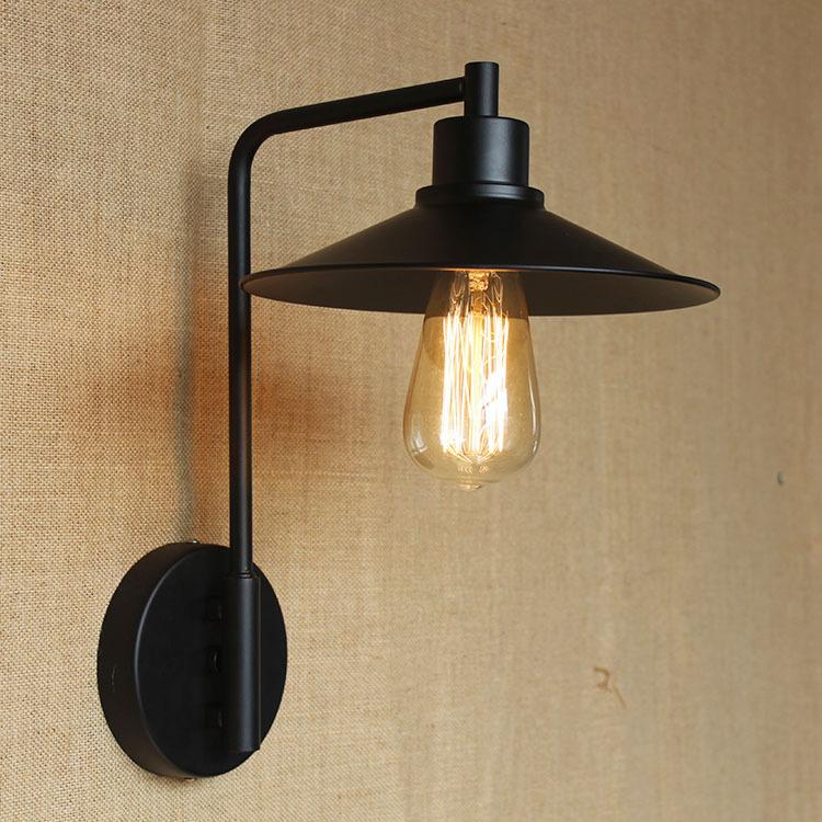 Фотография modern minimalist Edison lighting decorative lamp hot Loft retro industrial wind wall lamp wall lamp restaurant wall light