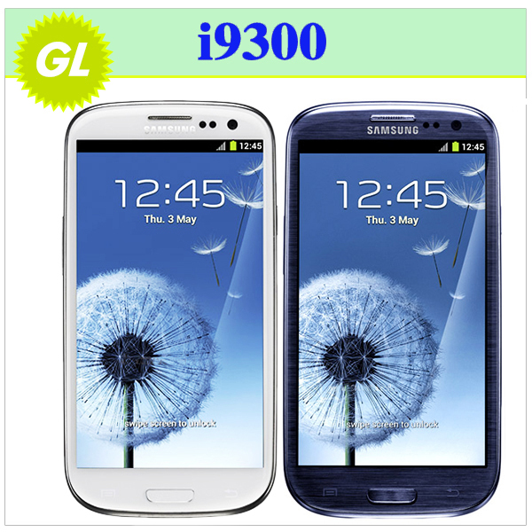 """S3 Original Samsung Galaxy i9300 S III SIII S3 Android 4.8"""" Touch Screen 8MP GPS WIFI 8MP 16G Mobile Phone Refurbished(China (Mainland))"""