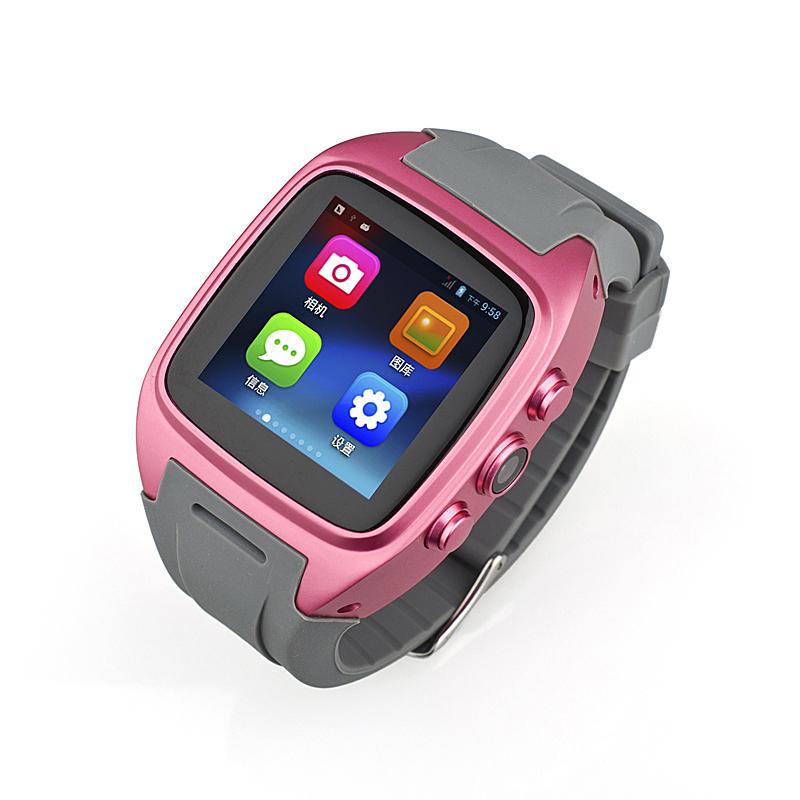 Оригинальные часы PW306II MTK6572 двухъядерный Телефон Android 4.4 4 Гб ROM 1.54