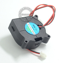 4pcs 3D printer accessories small turbo blower fan 50 15 circuit motherboard cooling fan for 3D