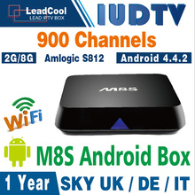 Iptv Set Top Box M8S Android Iptv Set Top Box With One Year Iudtv Iptv Account Iptv Apk Free Include 900 Channels Sky Portugal
