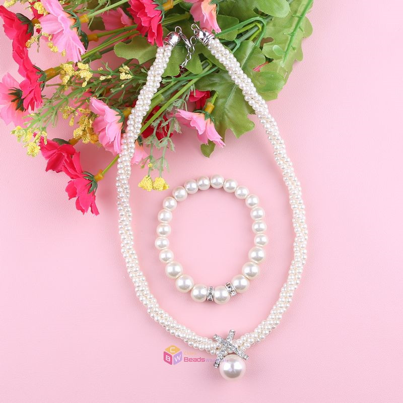 fashion jewelry wholesale multilayer gold chain imitation pearl necklace big brand short beaded necklaces for women(China (Mainland))