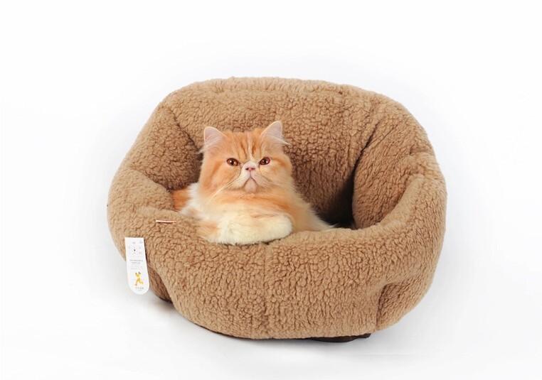 Plush Cat Bed