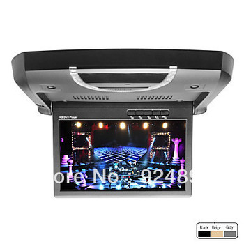 9 Inch Roof Mount Car DVD Player (FM, IR Transmitter, Game, SD, USB)