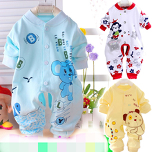2016 Children's Clothing Baby Underwear rompers baby boys/girls clothes Pure cotton Newborn Autumn Long sleeve infant clothes