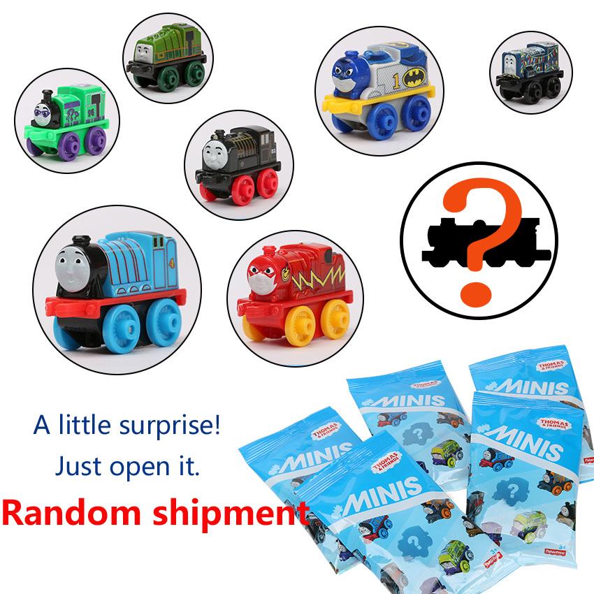original One train random Thomas and His Friends Railway Trains Model car Toy Thomas Train Toys Minis Blind Bag Boys figures(China (Mainland))