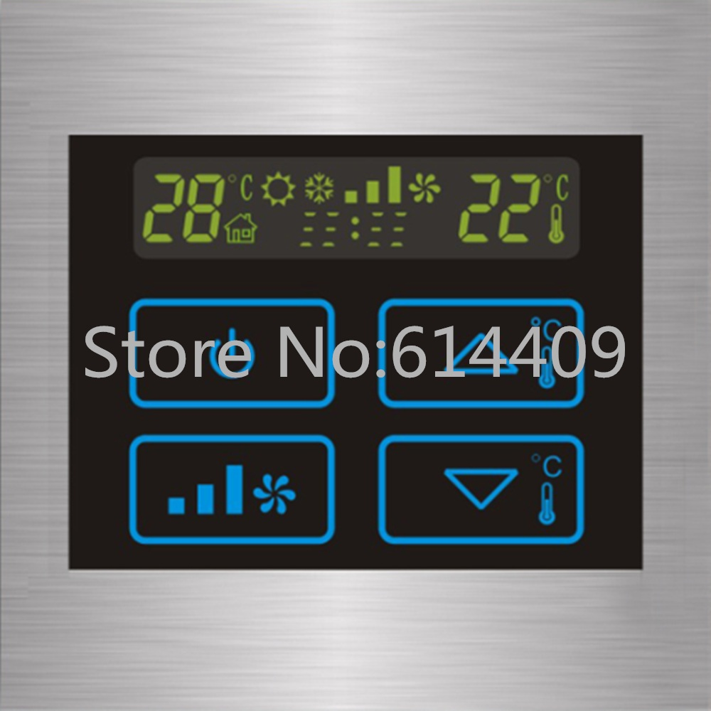 Malxs 50~60 Hz 110~240 V Ac Air Condition Touch Panel Controller Remote Wall Switch for Smart Home Automation System<br><br>Aliexpress
