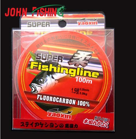 Promotion !100m Japanese High Quality Super Strong Fluorocarbon Fishing Line Linha Multifilamento Fishing Material(China (Mainland))