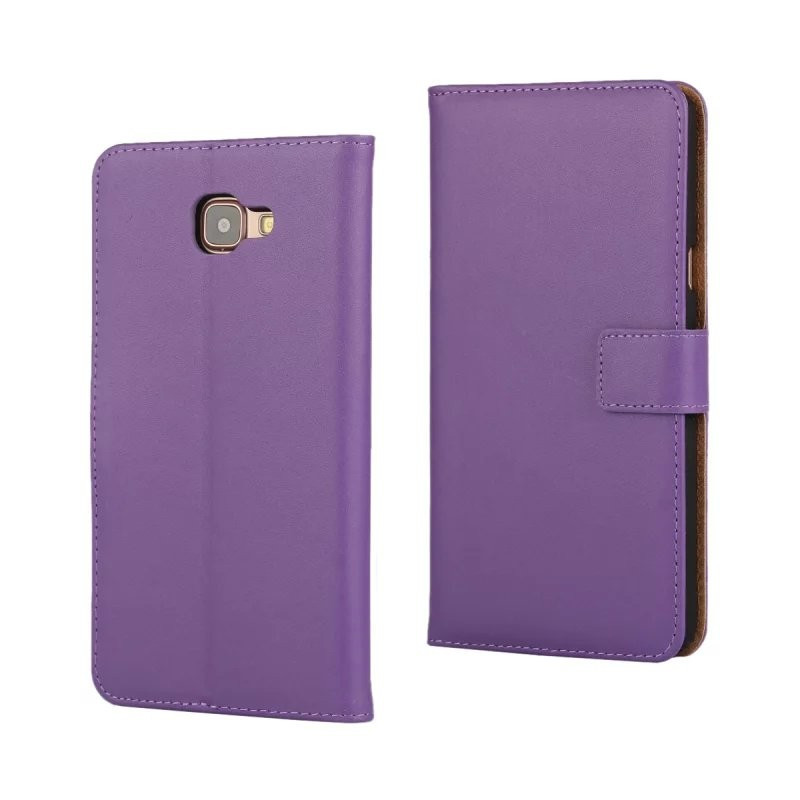 Luxury Genuine Leather Wallet Flip Cover Case for Samsung Galaxy A9 2016 A9000 with Card Slot Holder 10pcs/lot