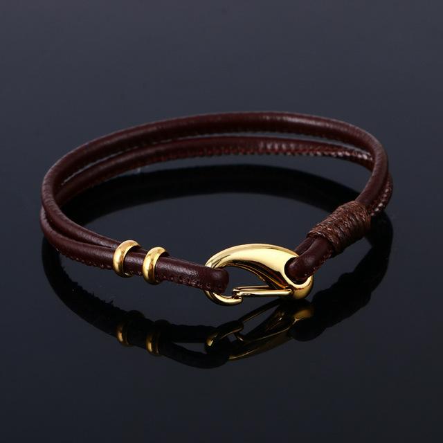 2016 мода ювелирных изделий кожаный браслет пу переплетения приспосабливать браслеты ...