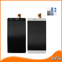 Original For Oukitel K4000 LCD display and Touch Screen Assembly + perfect repair part for Oukitel K4000 Free Shipping+Tools(China (Mainland))