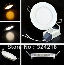 Free shipping (10pcs/lot )ultrathin led ceiling light recessed mounted led panel light  2835smd led downlight ceiling led light(China (Mainland))