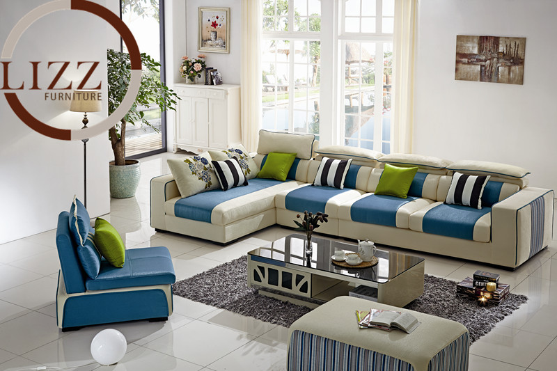 canada living room l shape fabric sofa set b1030 in living room sofas from furniture on