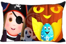 H#P-473 Custom Rectangle Zippered Pillow Case Halloween#64 Pillowcases 35x45cm (One Side) SQ00820-@H0473 - custom product store
