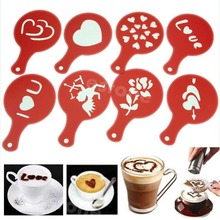 Coffee Barista Stencils Template