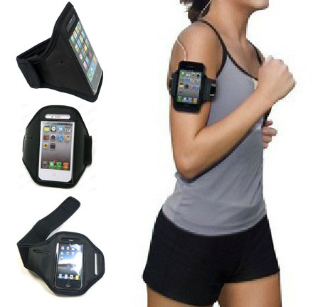 GYM Workout Sport ArmBand Case Cover For iPhone 4 4G 4S 3G 3GS 5 5G 5S for iPod Touch 4 Arm Band Case(China (Mainland))