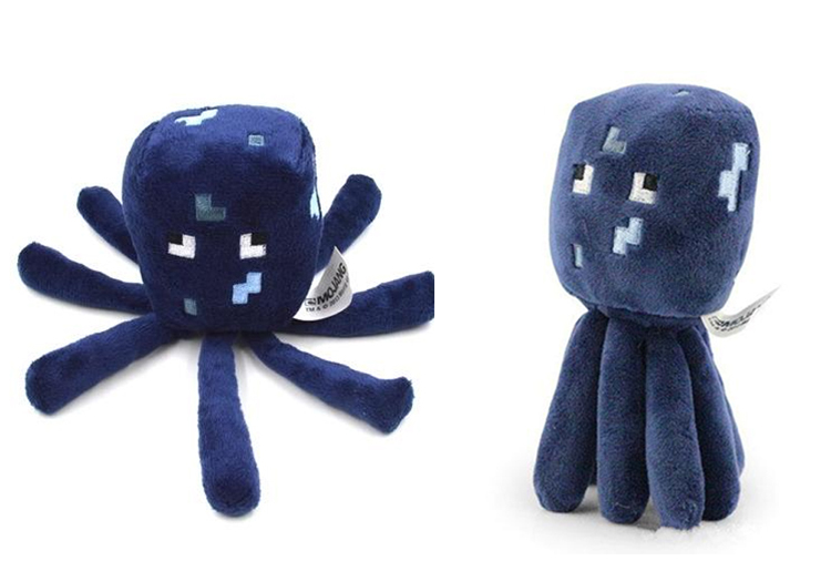 High Quality PP cotton Cute Lovely Dark Blue 16cm Octopus Plush Toys For Baby Children Toy Gift Drop Shipping Toy-0048-05(China (Mainland))