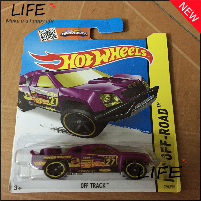 Free Shipping Hot Wheels Purple suv Off Track Car Models Metal Diecast Cars Collection Kids Toys Vehicle For Children Juguete(China (Mainland))