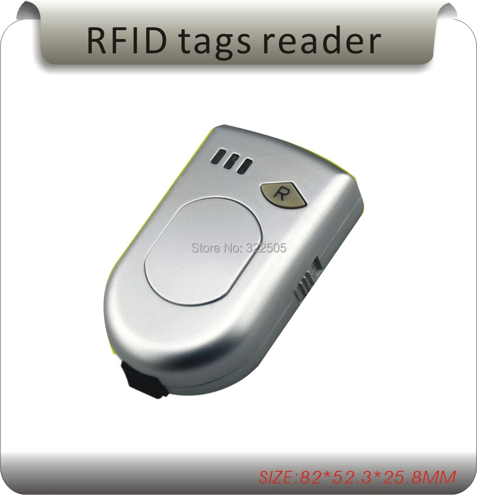 Portable wireless Bluetooth 125-134.2KHz RFID Reader + SDK for Glass Tube Pet ID Tag Aminal Ear Tag Livestock Farming <br>