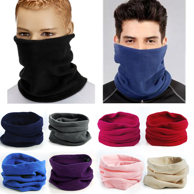 2015 New Arrival Fashion Unisex Polar Fleece Snood Hat Neck Warmer Ski Wear Scarf Beanie Balaclava wholesale price Free shippingОдежда и ак�е��уары<br><br><br>Aliexpress