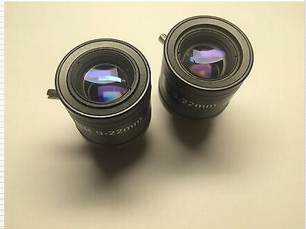 9-22mm M12 Manual Zoom Manual Focus MTV HD Lens for CCTV Security Camera