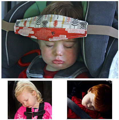 "1.5m/59"" Baby Car Seat Headrest Sleeping Head Support Pad Pillow For Kids Travel"