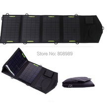 HOT Sale 18V 14W Portable Folding Solar Charger Solar Panel External Battery Charger Backup For Laptops/Computer Free Shipping