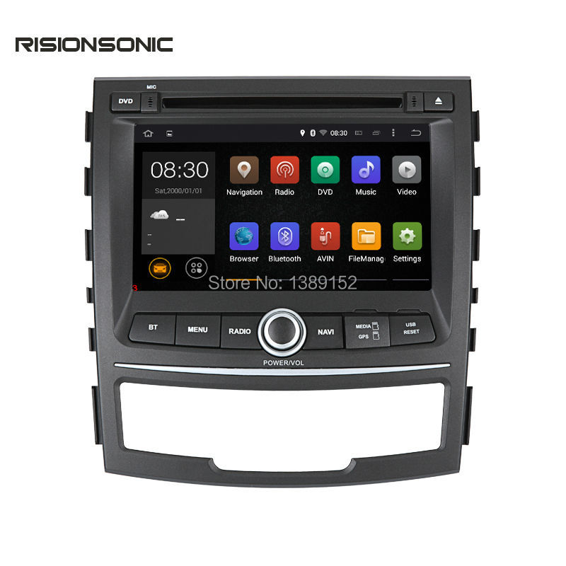 2din 1024*600 Cortex A9 16G ROM Car DVD GPS Navigation For ssangyong Korando 2010-2013 with WIFI BT Android 5.1.1 Quad core(China (Mainland))