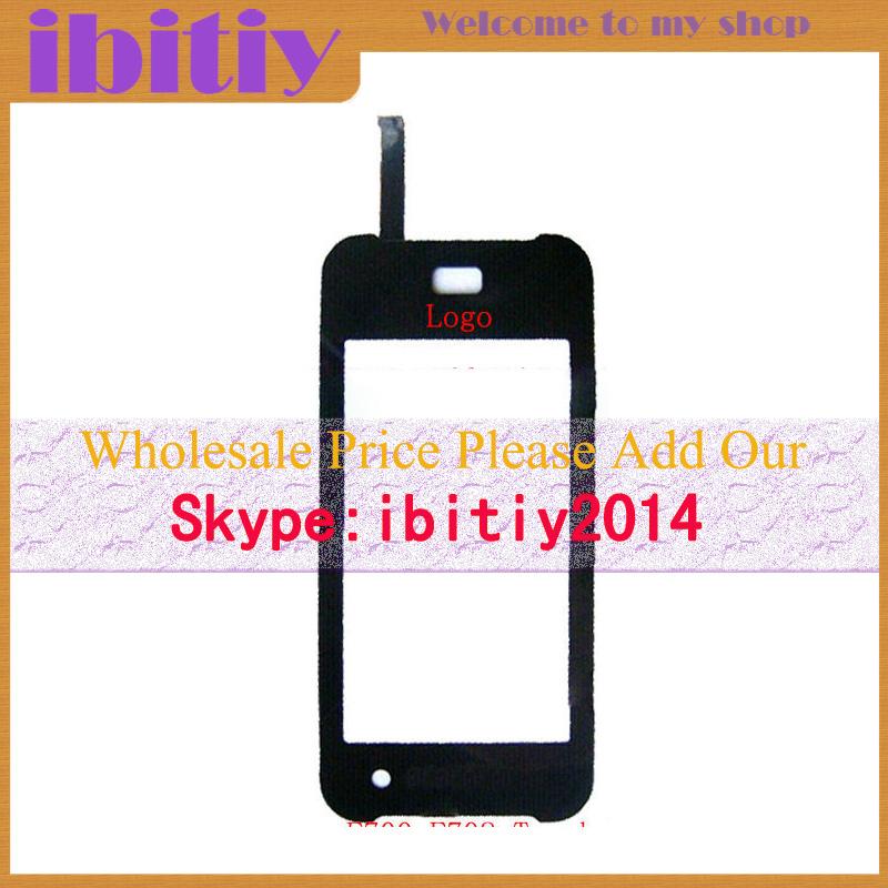 10Pcs/Lot Original For Samsung SGH- F700 F700V Touch Screen Digitizer Sensor Front Glass Lens Black White