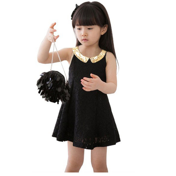 Hot Sale 2014 summer New Children's clothing baby girls clothes kids sleeveless princess lace tutu dress Free Shipping