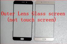 Buy For OPPO R9 R9M R9S R9mt /For OPPO R9 PLUS Free shipping protective Front Glass Lens Outer Lens Glass screen (not touch screen) for $7.34 in AliExpress store