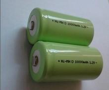 5 шт. оригинальный аккумулятор новый 1.2 В 10000 мАч размер D NI-MH 10Ah высокой емкости никельные D аккумуляторная батарея бесплатная доставка
