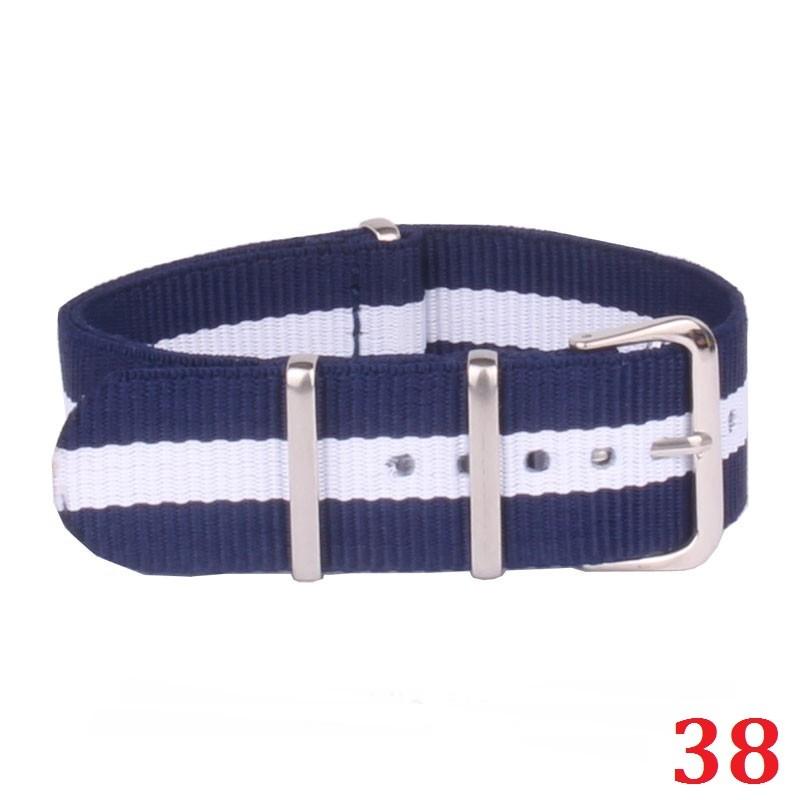 5pcs/Lot Canvas Nylon NATO Strap 12mm Watchband NATO Female Lady Girl Child Watch Band 12 MM