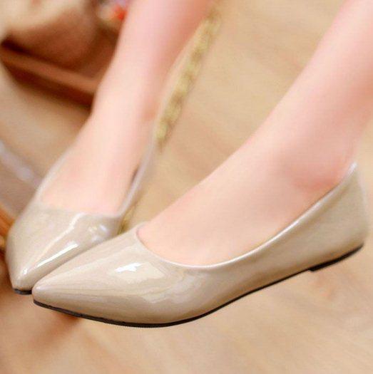 Free shipping flat casual candy color shoes women sexy dress footwear fashion lady P11816 hot sale EUR size 32-43(China (Mainland))