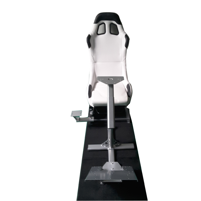 SPECIAL OFFER Evolution Cockpit Folding Racing Play Game Seat For Logitech G27 Play Station XBox PC White(China (Mainland))