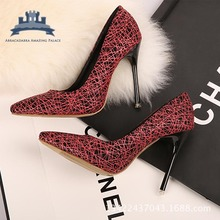 New Fashion Women's Pumps Spring Autumn Pointed Toe Ladies Shoes Sexy Party High Heels Zapatos For Mujer Big Size EU 34 - 40(China (Mainland))