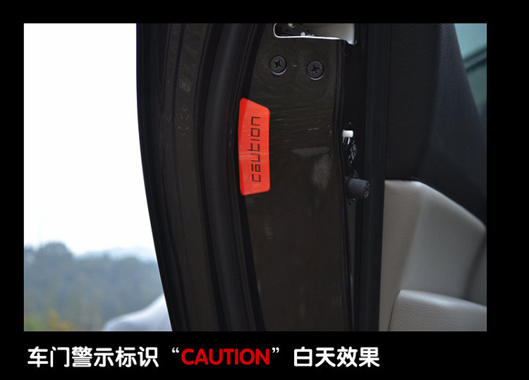 Auto Spare Parts Car sticker Reflective Vehicle Door Open crash safety warning stickers reflective