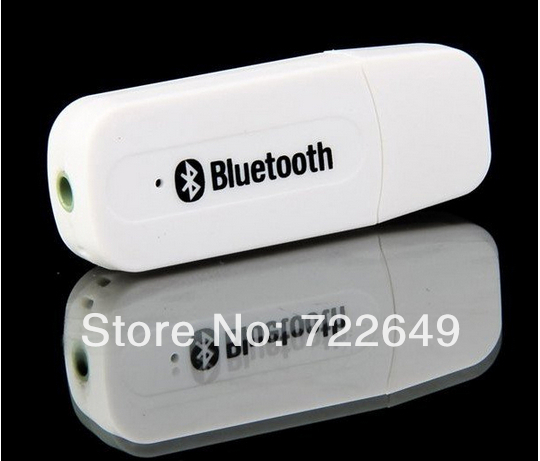 Hot Bluetooth Wireless audio Receiver Adapter USB Music Speakers Black & White 5 - Super deals -FeiYang store