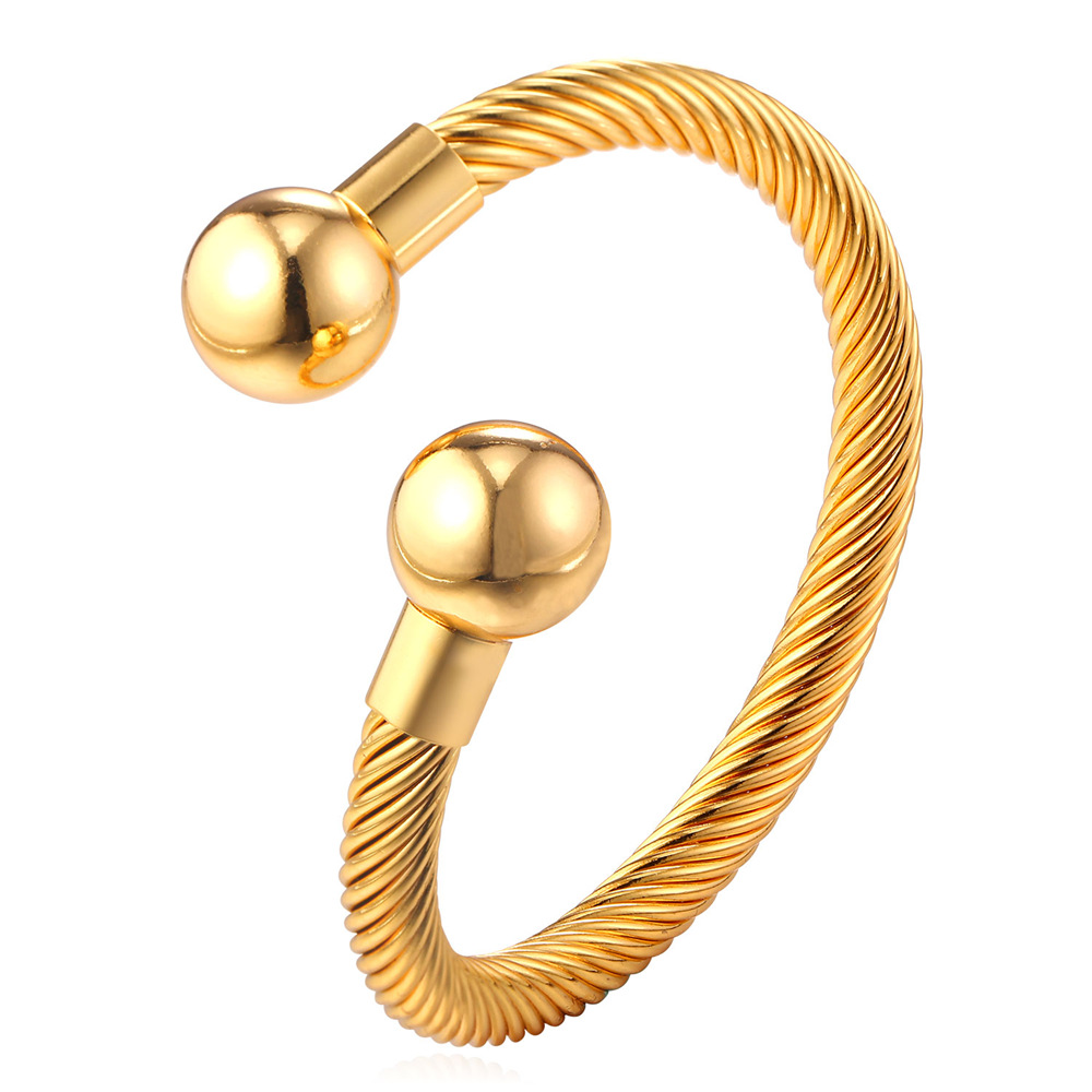 Hiphop Bracelets & Bangles Women Men Jewelry For Party Gift 18k Real Gold/Platinum Plated Bangles Charms Unisex Jewelry YH2023(China (Mainland))