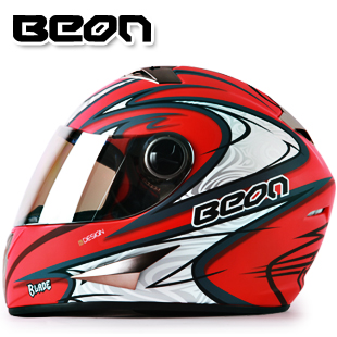 Free Shipping BEON Warm Winter Mens Motorcycle Helmets Full Face Off Road Downhill Helmet For Scooter Classic Style B-500(China (Mainland))