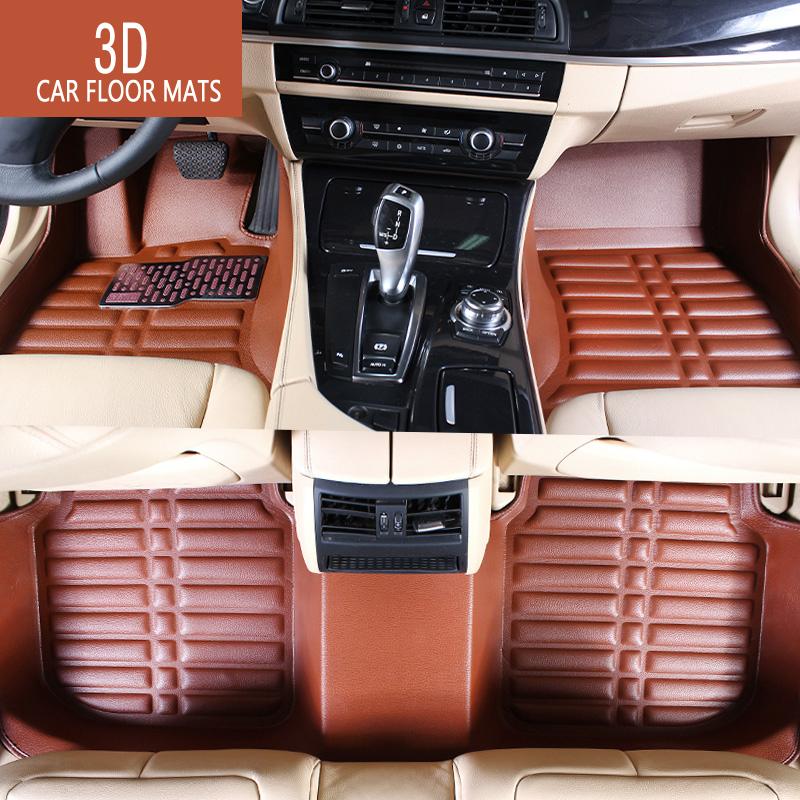 Car floor mats Case for Mazda 6 ATENZA Mazda3 Axela CX-5 Car foot mats Car carpet 3D Waterproof 4 color(China (Mainland))