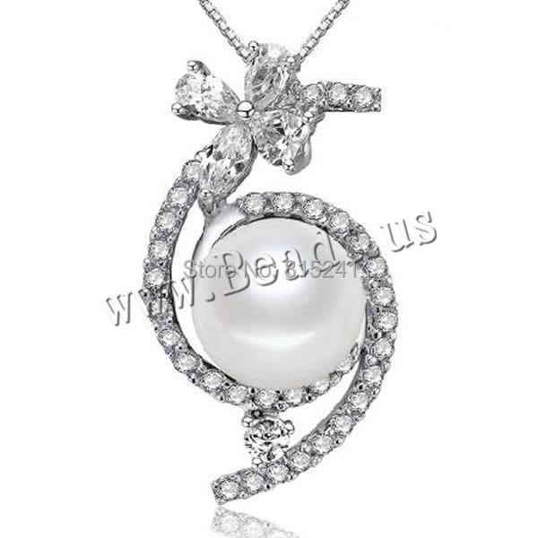 Здесь можно купить  Free shipping!!!Freshwater Pearl Pendants,Men Fashion Jewelry, with 925 Sterling Silver, natural, with cubic zirconia, white Free shipping!!!Freshwater Pearl Pendants,Men Fashion Jewelry, with 925 Sterling Silver, natural, with cubic zirconia, white Ювелирные изделия и часы
