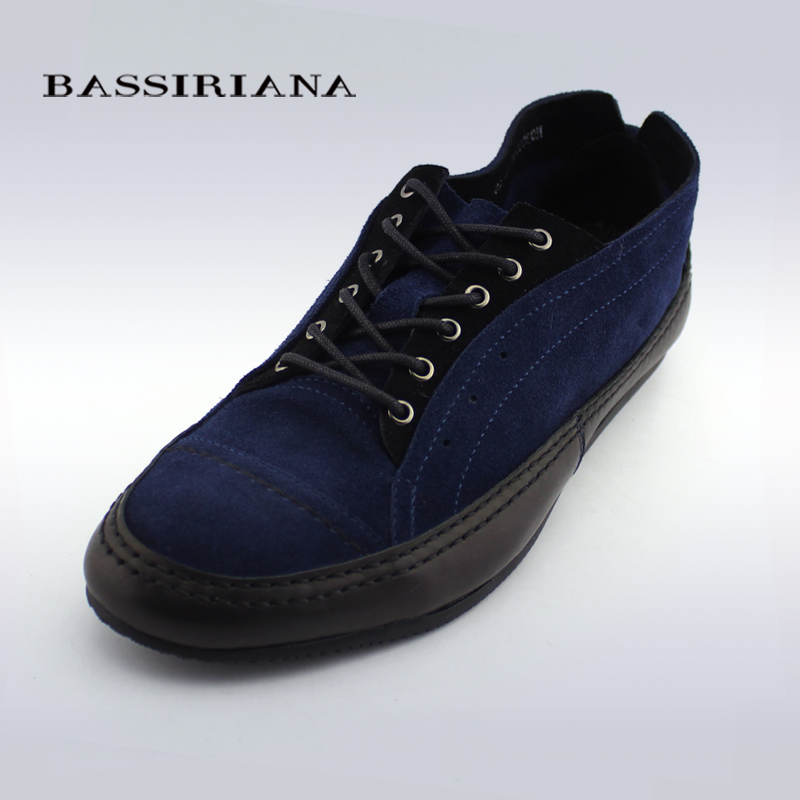 BASSIRIANA - mens casual flats shoes, spring/autumn 2015, genuine suede, russian sizes<br><br>Aliexpress